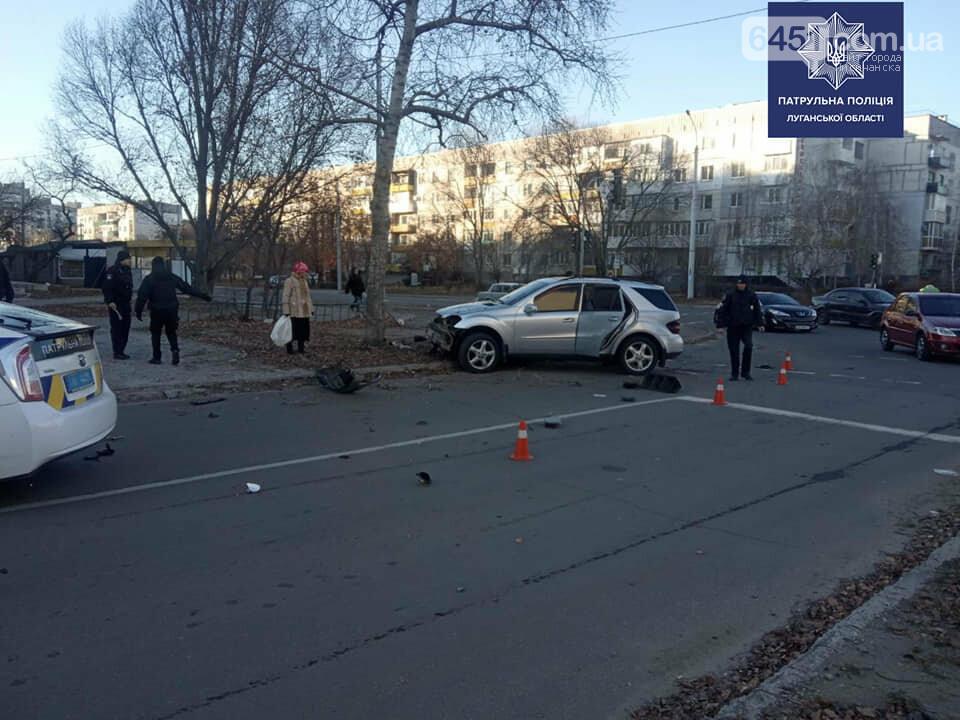 В Северодонецке произошло ДТП. Еще один пьяный водитель задержан полицией, фото-1