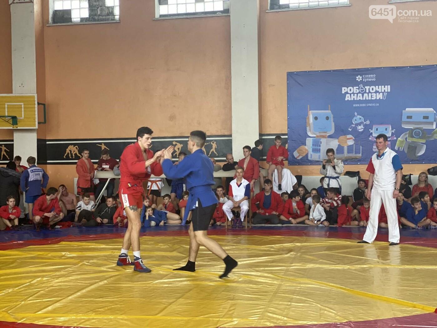 Самбисты из Лисичанска одержали победу в городском и областном чемпионатах, фото-1