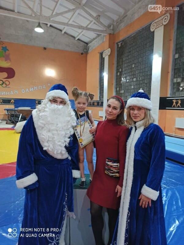 В Лисичанске прошёл новогодний чемпионат по спортивной гимнастике, фото-1