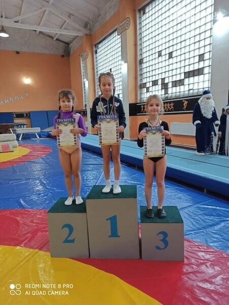 В Лисичанске прошёл новогодний чемпионат по спортивной гимнастике, фото-7