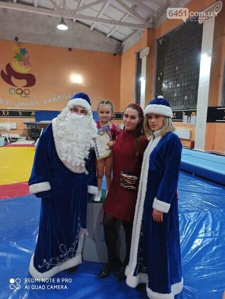 В Лисичанске прошёл новогодний чемпионат по спортивной гимнастике, фото-8