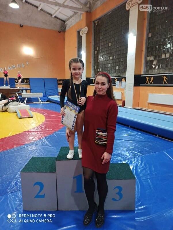 В Лисичанске прошёл новогодний чемпионат по спортивной гимнастике, фото-2