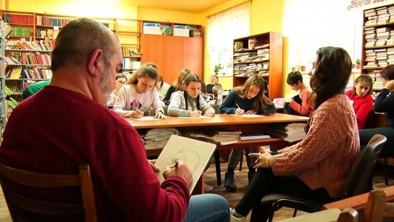 Арт-караван Дружбы детей-художников из Луганской области посетил Закарпатье, фото-8