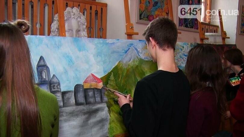 Арт-караван Дружбы детей-художников из Луганской области посетил Закарпатье, фото-9
