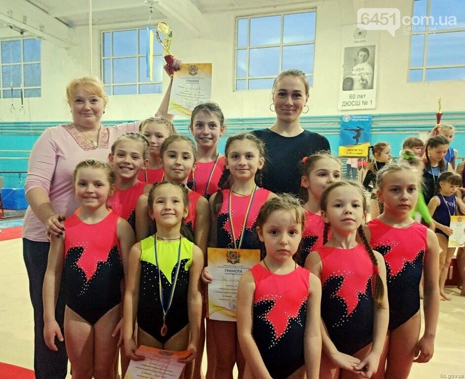 Команда Лисичанска стала бронзовым призером открытого чемпионата Луганска области по спортивной гимнастике , фото-1
