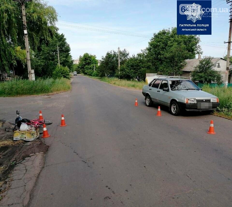 В Лисичанске автомобиль сбил 80-летнюю велосипедистку, фото-2