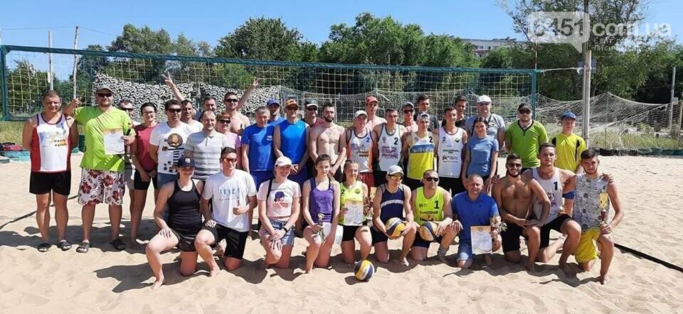 В Луганской области начался открытый чемпионат по пляжному волейболу, фото-1