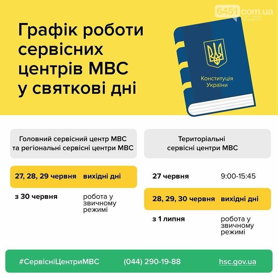 Сервисные центры МВД в Луганской области меняют график работы на праздничные дни, фото-1