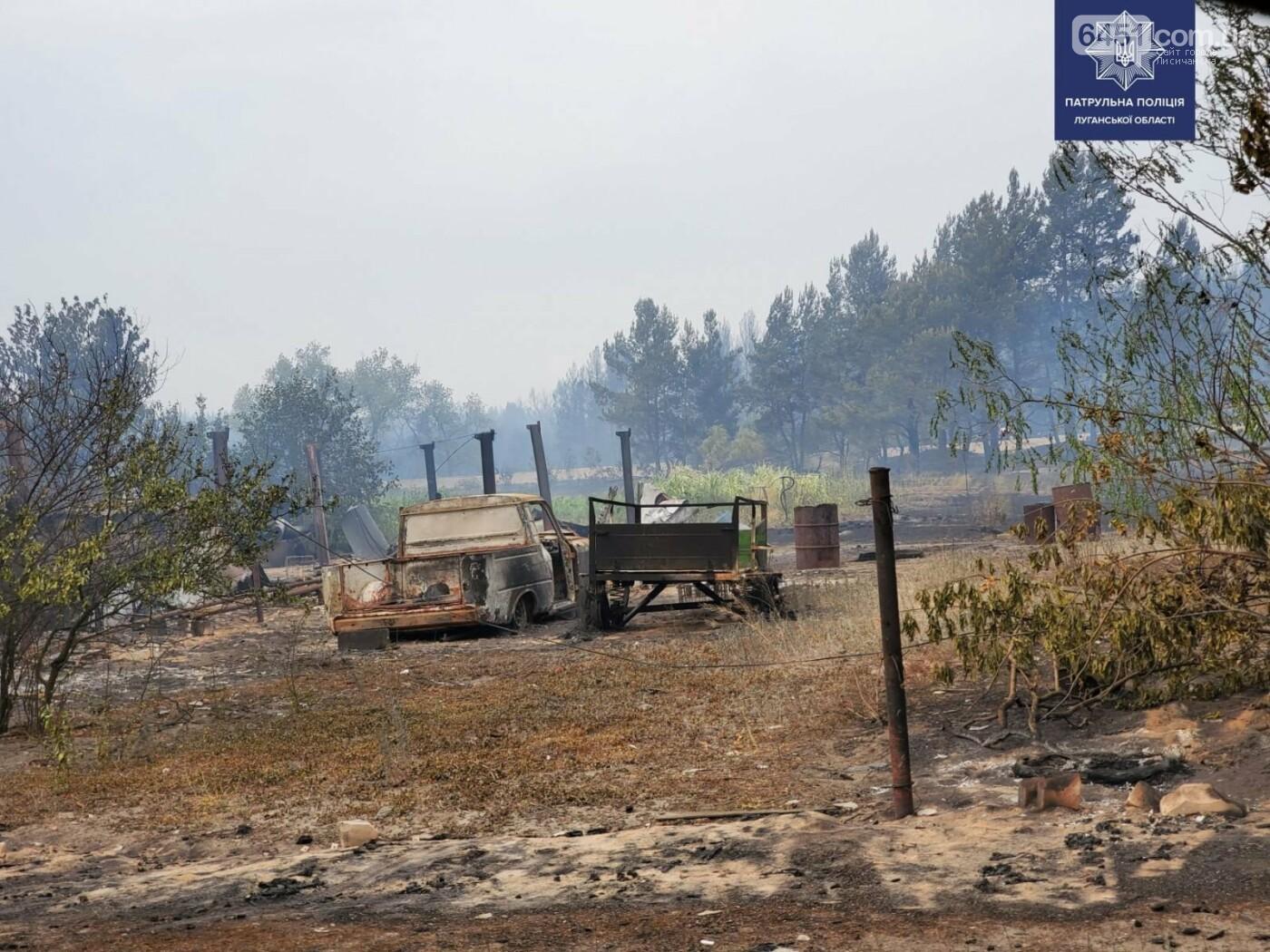 Подробности пожара на Луганщине, фото-3