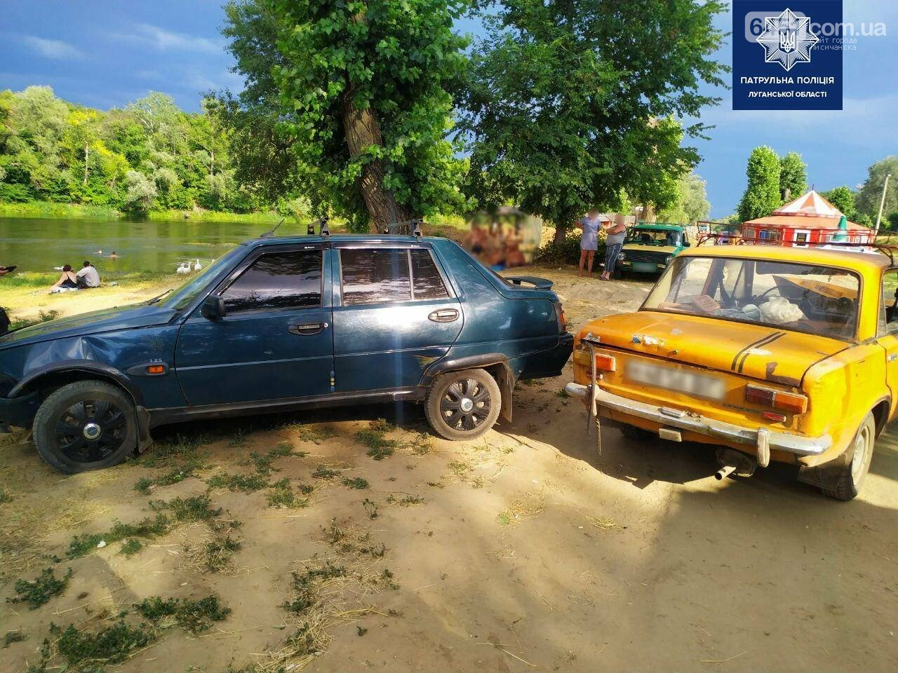 Пьяный мужчина из Лисичанска сначала украл автомобиль, а потом устроил на нем ДТП, фото-1