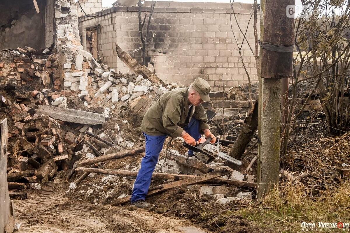 ФОТООТЧЁТ: Штаб помощи пострадавшим от пожара развернул масштабные работы в Смоляниново. День 2, фото-1