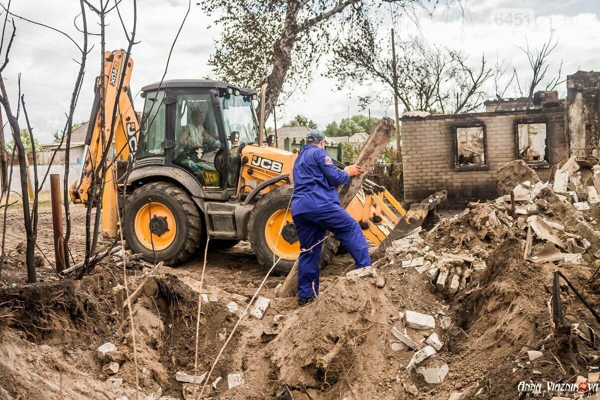 ФОТООТЧЁТ: Штаб помощи пострадавшим от пожара развернул масштабные работы в Смоляниново. День 2, фото-3