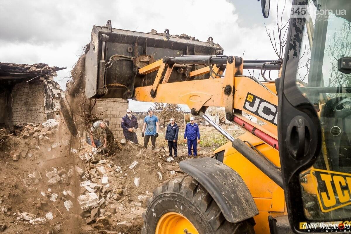 ФОТООТЧЁТ: Штаб помощи пострадавшим от пожара развернул масштабные работы в Смоляниново. День 2, фото-5