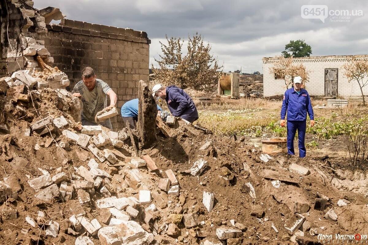 ФОТООТЧЁТ: Штаб помощи пострадавшим от пожара развернул масштабные работы в Смоляниново. День 2, фото-6
