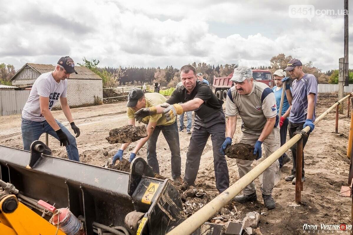 ФОТООТЧЁТ: Штаб помощи пострадавшим от пожара развернул масштабные работы в Смоляниново. День 2, фото-11