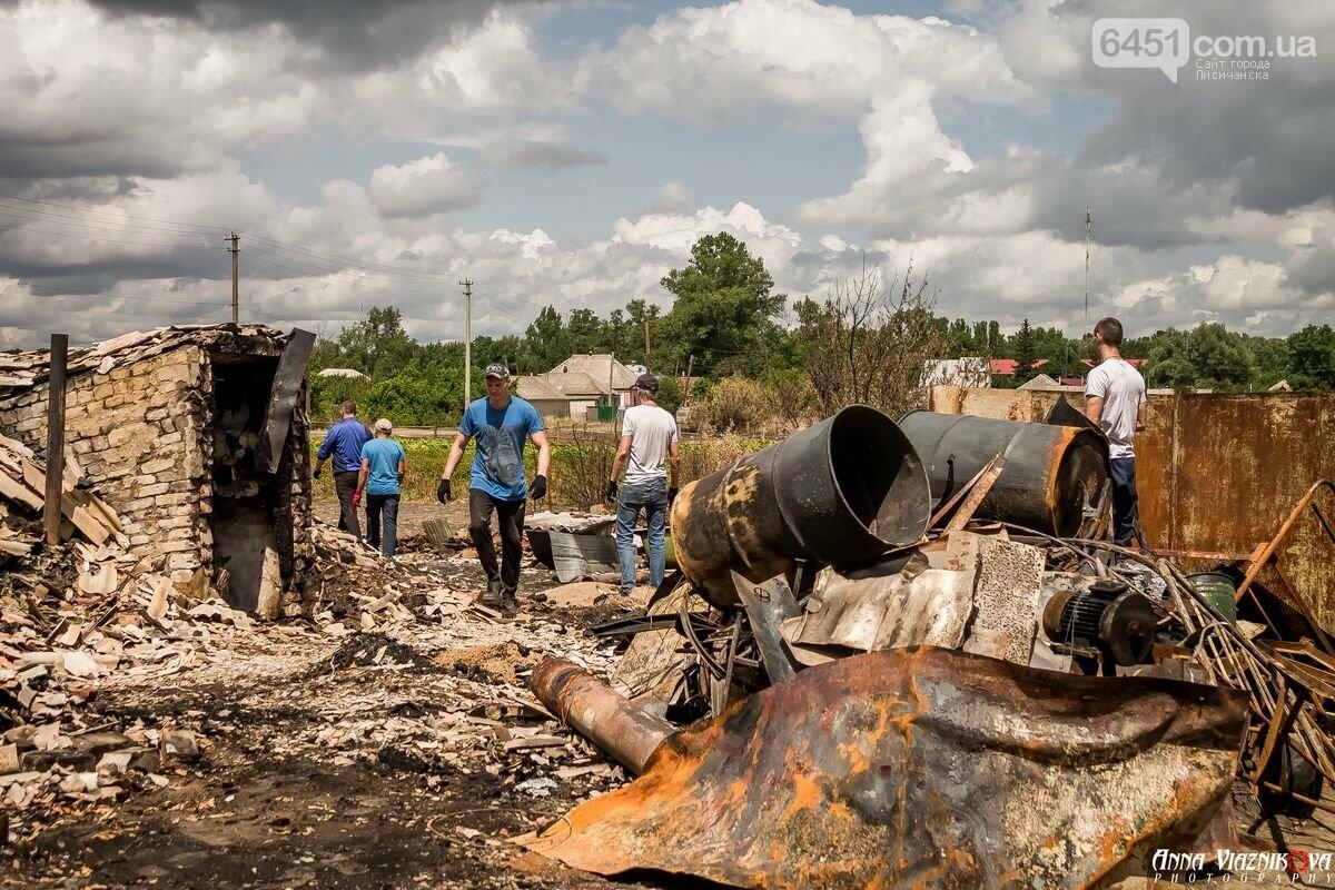 ФОТООТЧЁТ: Штаб помощи пострадавшим от пожара развернул масштабные работы в Смоляниново. День 2, фото-17