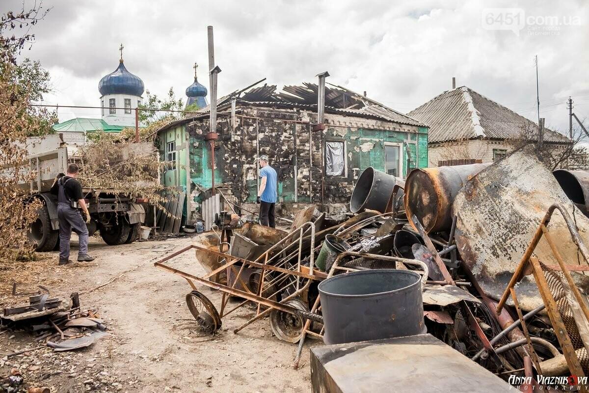 ФОТООТЧЁТ: Штаб помощи пострадавшим от пожара развернул масштабные работы в Смоляниново. День 2, фото-18