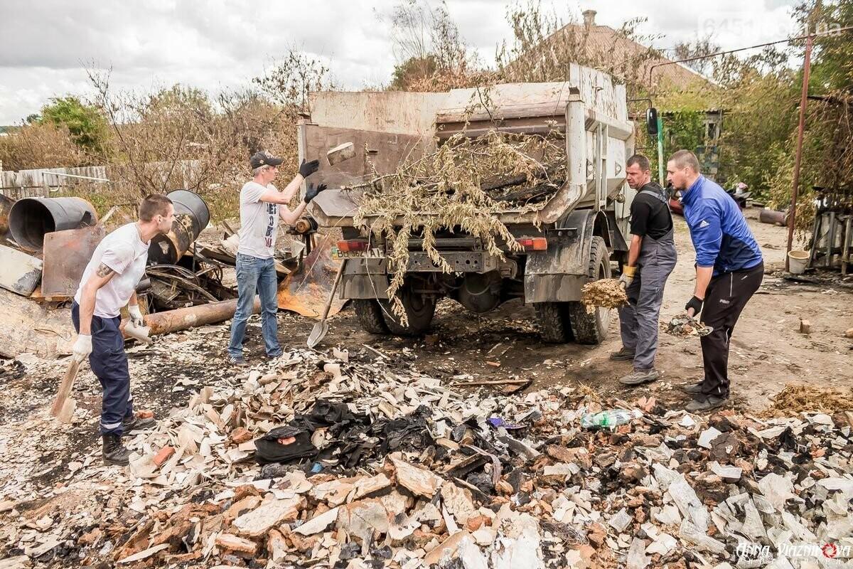 ФОТООТЧЁТ: Штаб помощи пострадавшим от пожара развернул масштабные работы в Смоляниново. День 2, фото-20