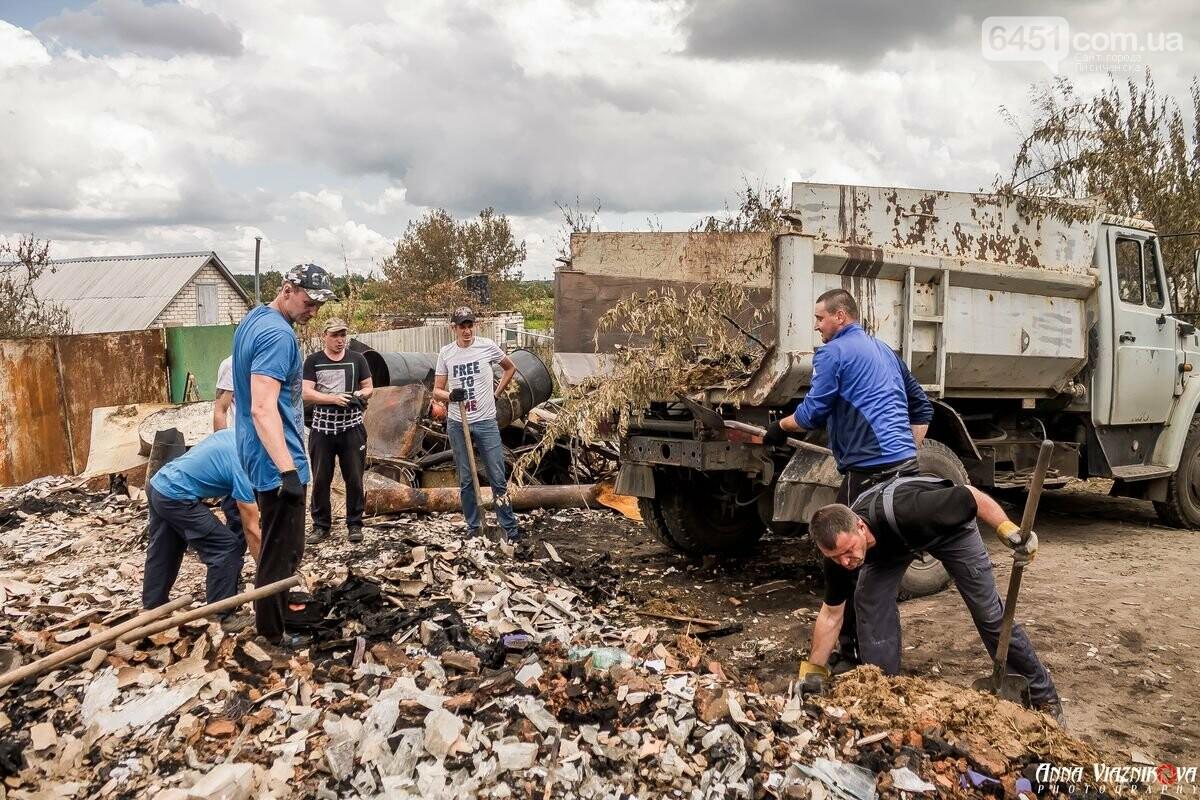 ФОТООТЧЁТ: Штаб помощи пострадавшим от пожара развернул масштабные работы в Смоляниново. День 2, фото-21