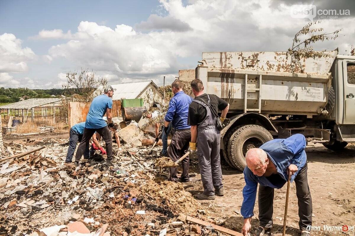 ФОТООТЧЁТ: Штаб помощи пострадавшим от пожара развернул масштабные работы в Смоляниново. День 2, фото-22