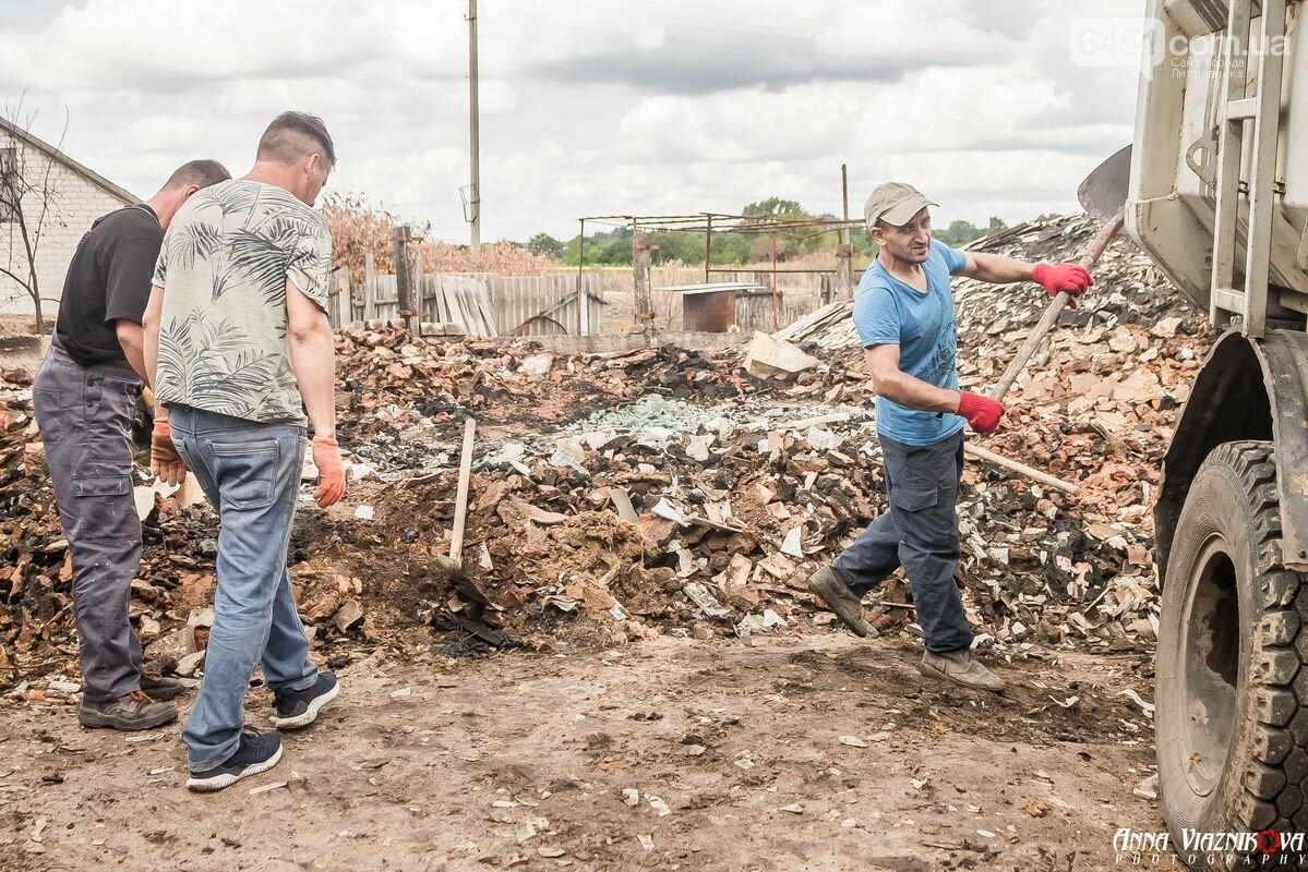 ФОТООТЧЁТ: Штаб помощи пострадавшим от пожара развернул масштабные работы в Смоляниново. День 2, фото-28