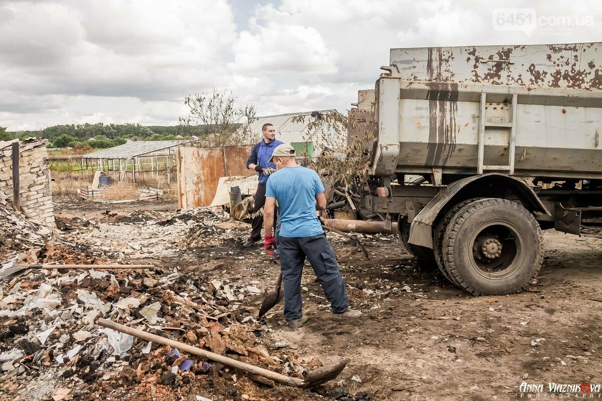 ФОТООТЧЁТ: Штаб помощи пострадавшим от пожара развернул масштабные работы в Смоляниново. День 2, фото-29