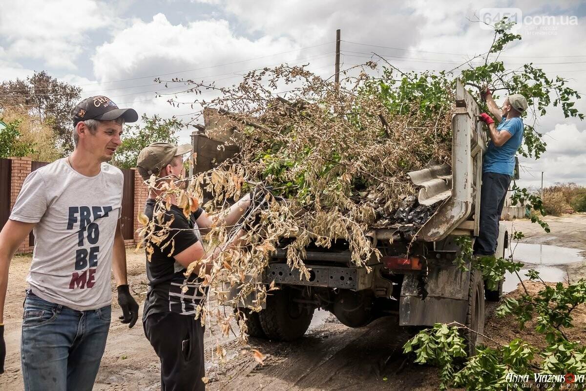 ФОТООТЧЁТ: Штаб помощи пострадавшим от пожара развернул масштабные работы в Смоляниново. День 2, фото-34