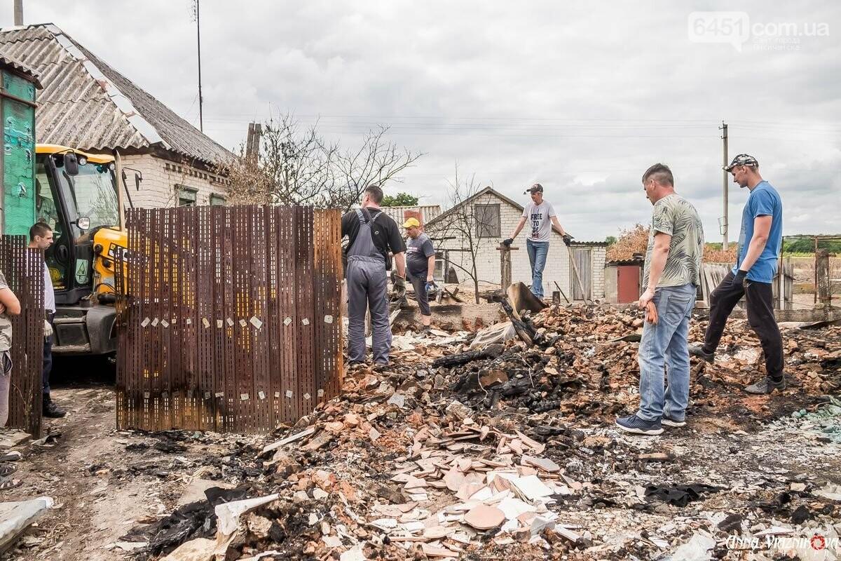 ФОТООТЧЁТ: Штаб помощи пострадавшим от пожара развернул масштабные работы в Смоляниново. День 2, фото-40