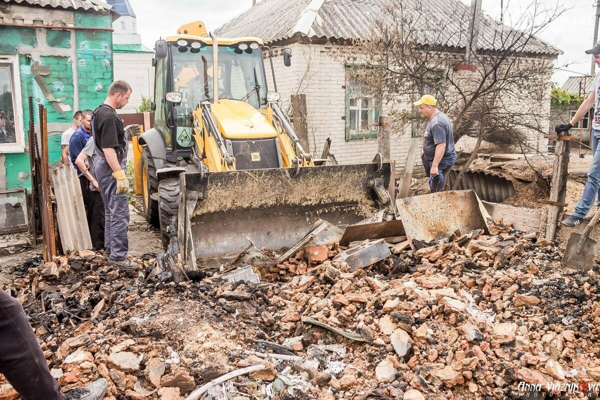 ФОТООТЧЁТ: Штаб помощи пострадавшим от пожара развернул масштабные работы в Смоляниново. День 2, фото-41