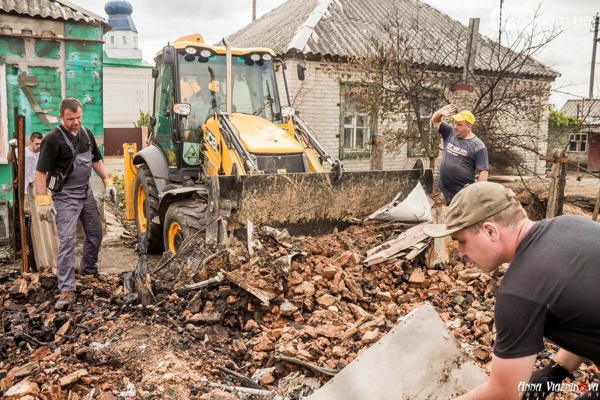ФОТООТЧЁТ: Штаб помощи пострадавшим от пожара развернул масштабные работы в Смоляниново. День 2, фото-43