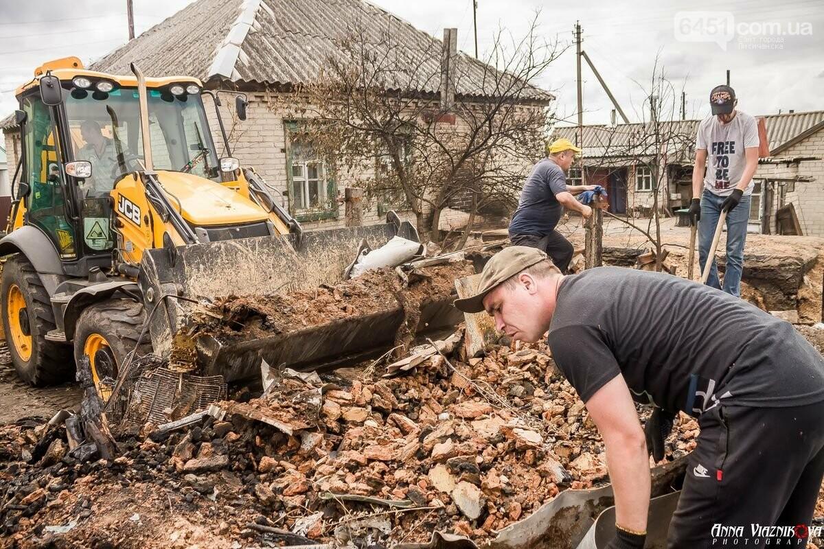 ФОТООТЧЁТ: Штаб помощи пострадавшим от пожара развернул масштабные работы в Смоляниново. День 2, фото-44