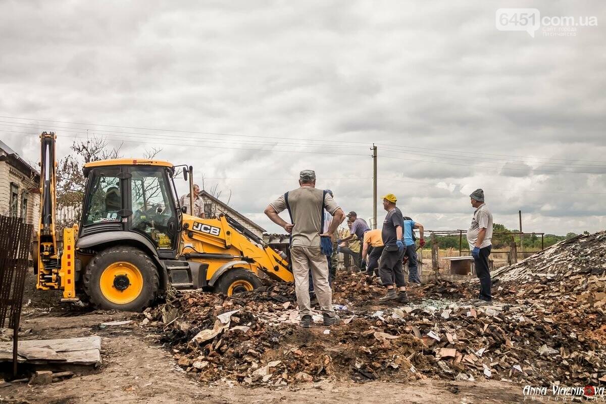 ФОТООТЧЁТ: Штаб помощи пострадавшим от пожара развернул масштабные работы в Смоляниново. День 2, фото-45
