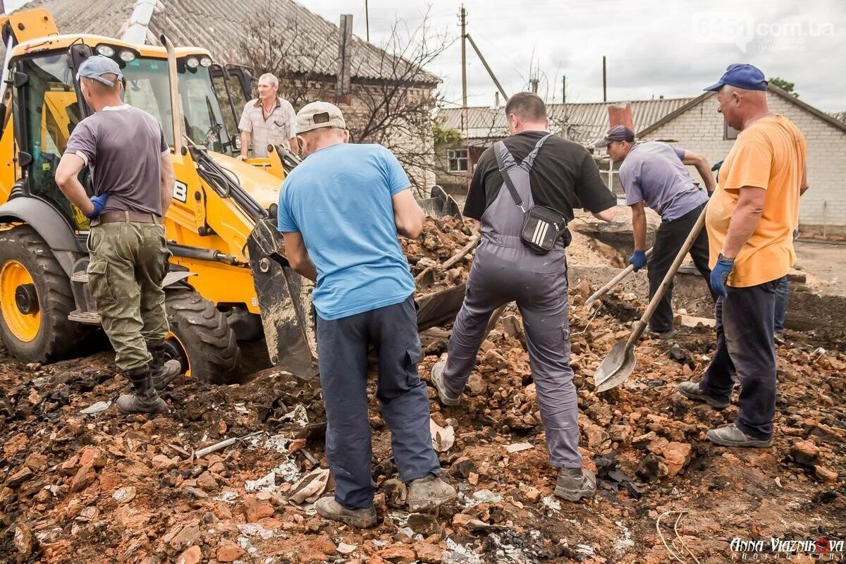 ФОТООТЧЁТ: Штаб помощи пострадавшим от пожара развернул масштабные работы в Смоляниново. День 2, фото-46
