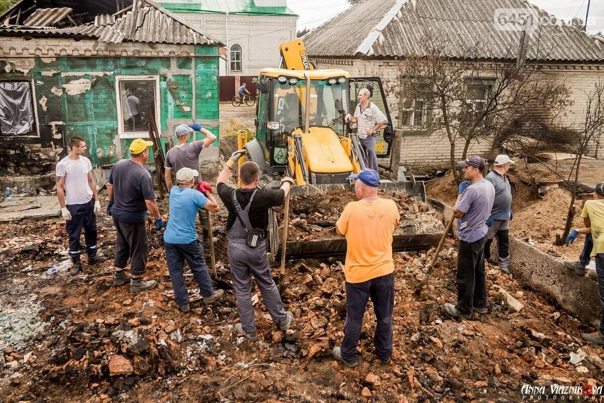 ФОТООТЧЁТ: Штаб помощи пострадавшим от пожара развернул масштабные работы в Смоляниново. День 2, фото-47