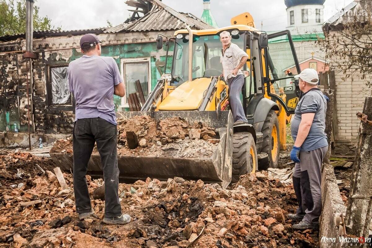 ФОТООТЧЁТ: Штаб помощи пострадавшим от пожара развернул масштабные работы в Смоляниново. День 2, фото-48
