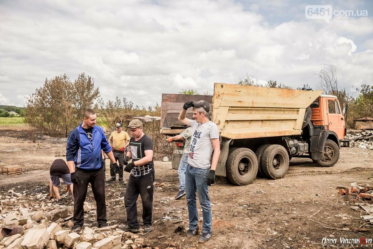 ФОТООТЧЁТ: Штаб помощи пострадавшим от пожара развернул масштабные работы в Смоляниново. День 2, фото-49