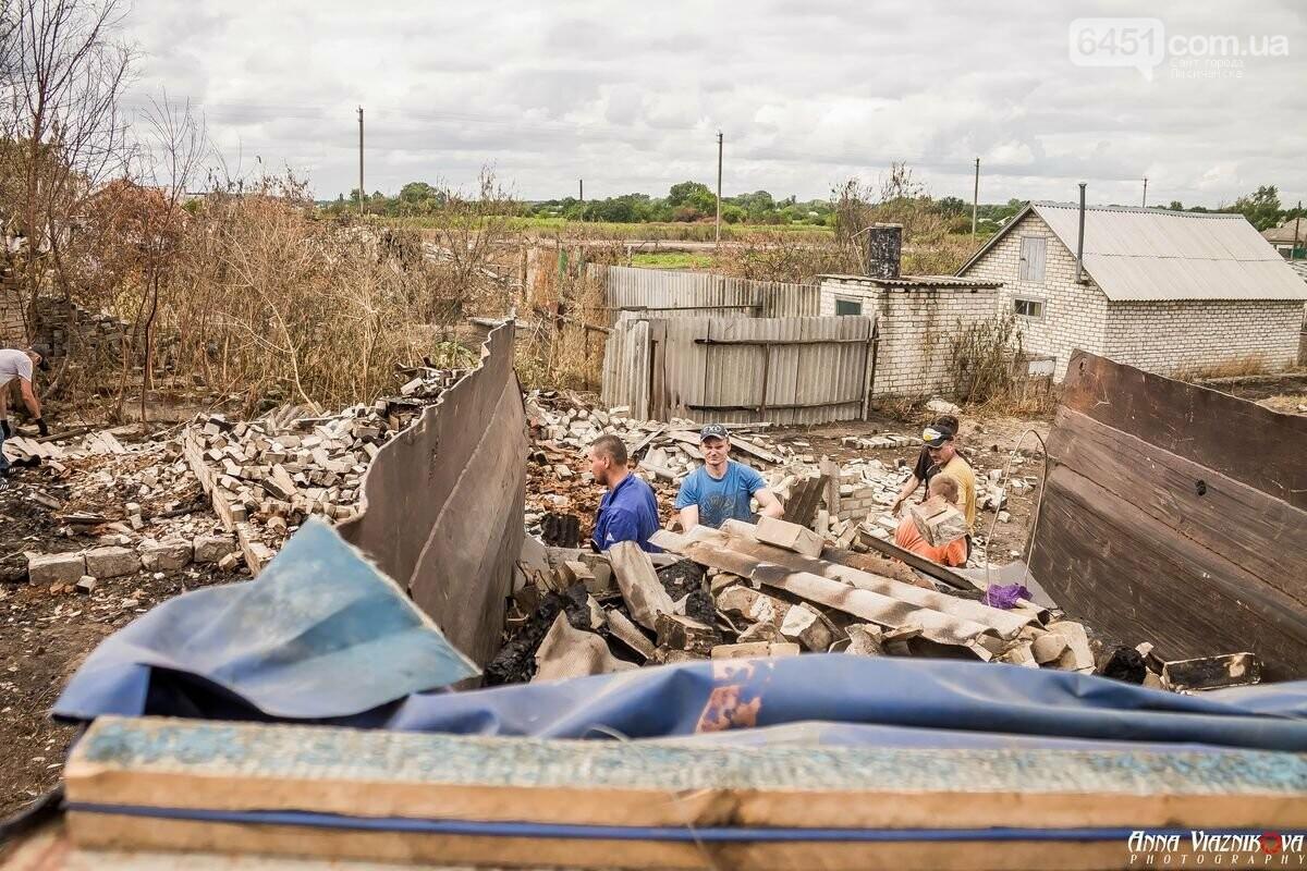 ФОТООТЧЁТ: Штаб помощи пострадавшим от пожара развернул масштабные работы в Смоляниново. День 2, фото-52