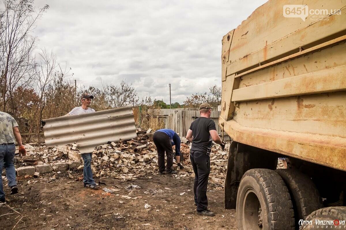 ФОТООТЧЁТ: Штаб помощи пострадавшим от пожара развернул масштабные работы в Смоляниново. День 2, фото-53