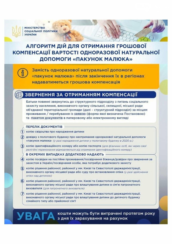 """Процедура получения денег за """"пакет малыша"""" меняется с 1 сентября, фото-2"""