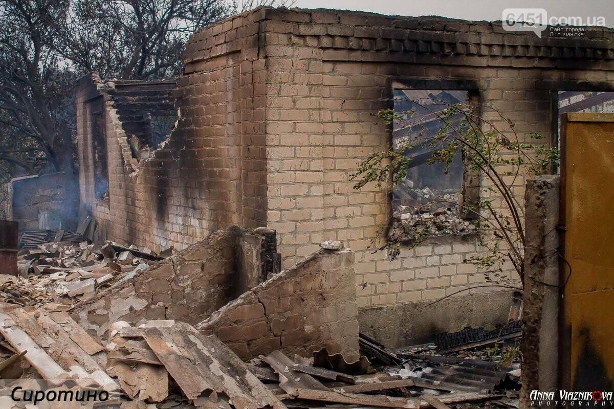 Последствия пожаров в Муратово и Сиротино, фото-29