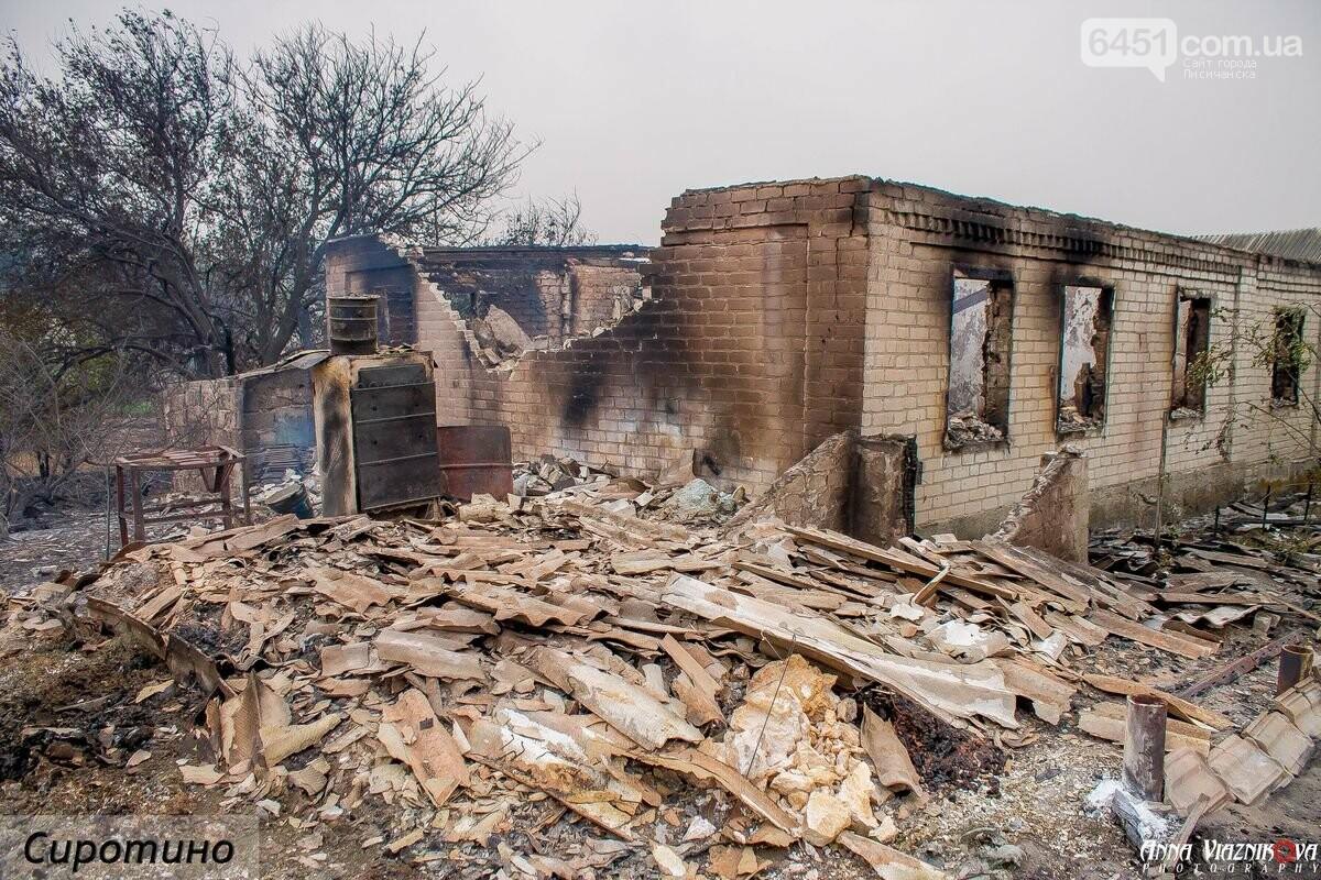 Последствия пожаров в Муратово и Сиротино, фото-30