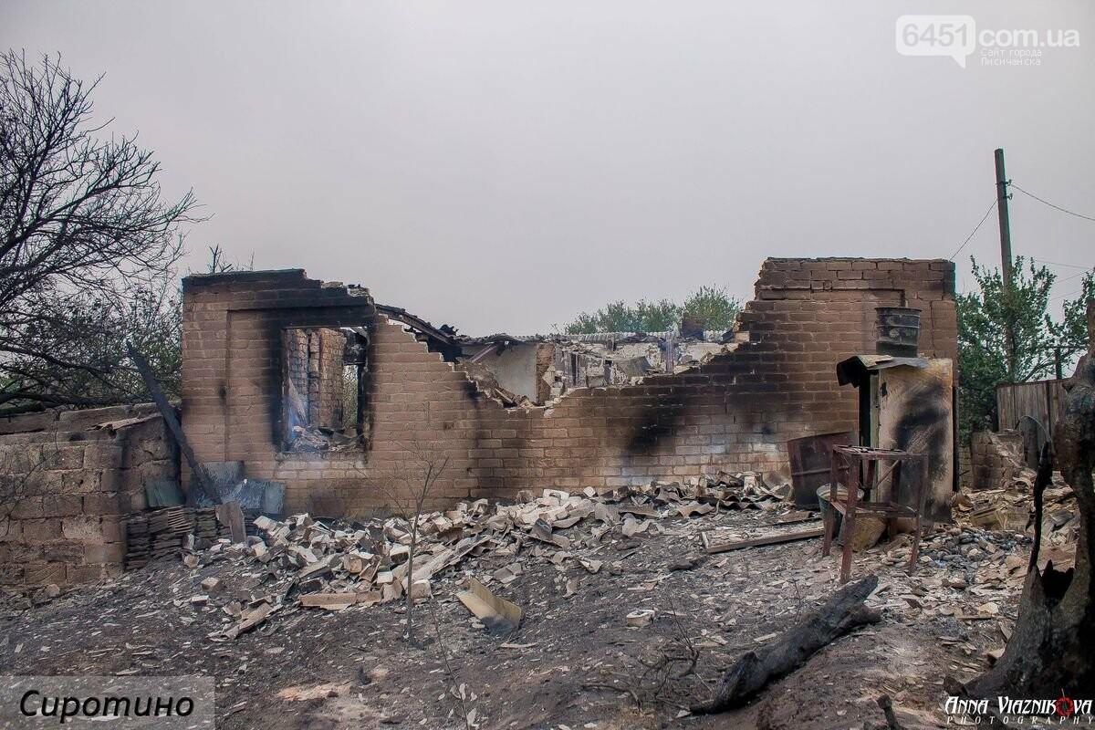 Последствия пожаров в Муратово и Сиротино, фото-32