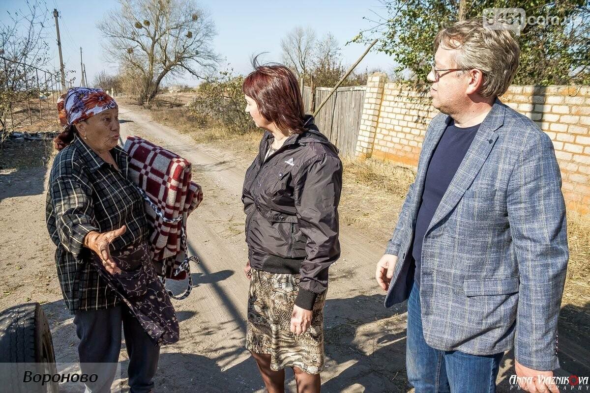 """Представители """"Оппозиционной платформы - За Жизнь"""" привезли помощь в пострадавшие от пожара населенные пункты, фото-100"""