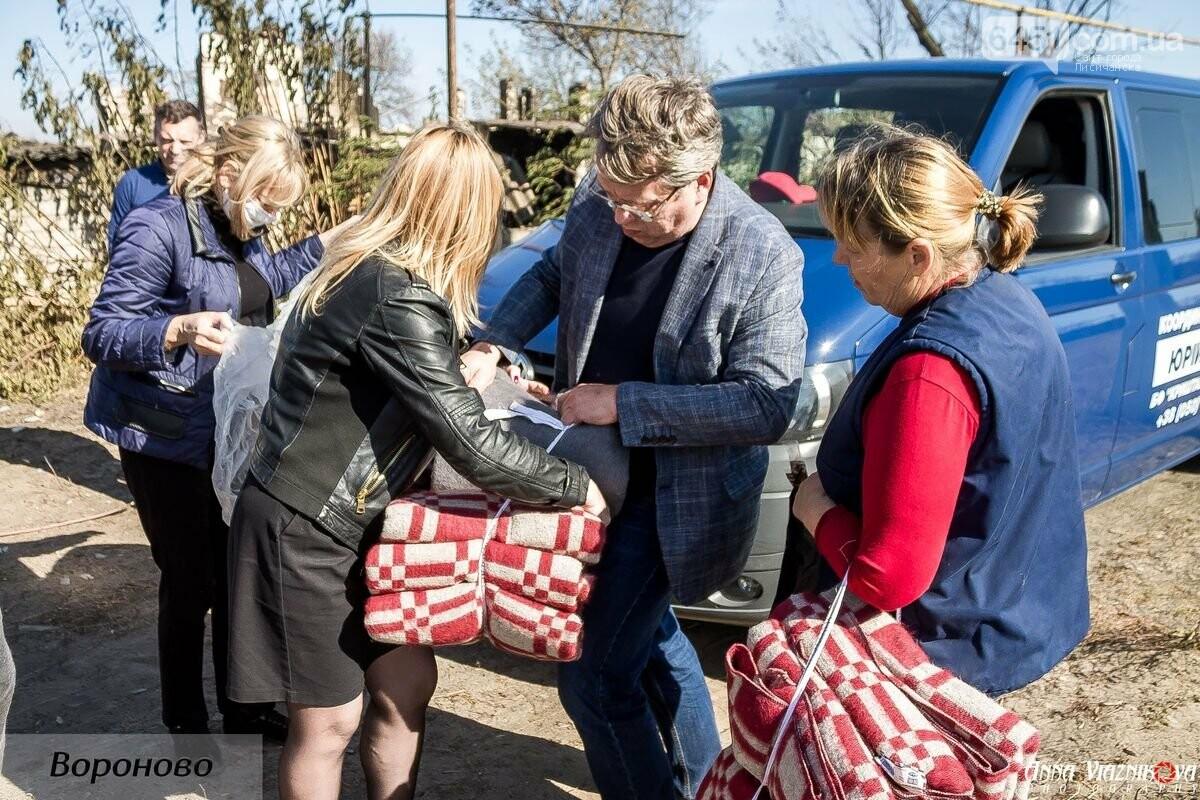 """Представители """"Оппозиционной платформы - За Жизнь"""" привезли помощь в пострадавшие от пожара населенные пункты, фото-109"""