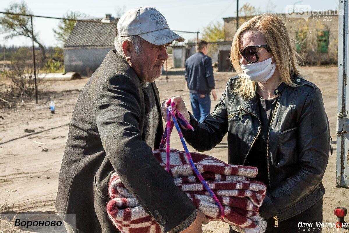 """Представители """"Оппозиционной платформы - За Жизнь"""" привезли помощь в пострадавшие от пожара населенные пункты, фото-111"""