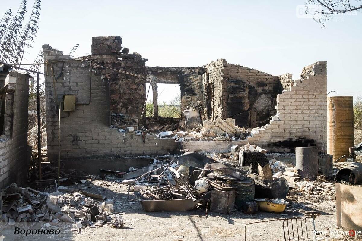 """Представители """"Оппозиционной платформы - За Жизнь"""" привезли помощь в пострадавшие от пожара населенные пункты, фото-118"""