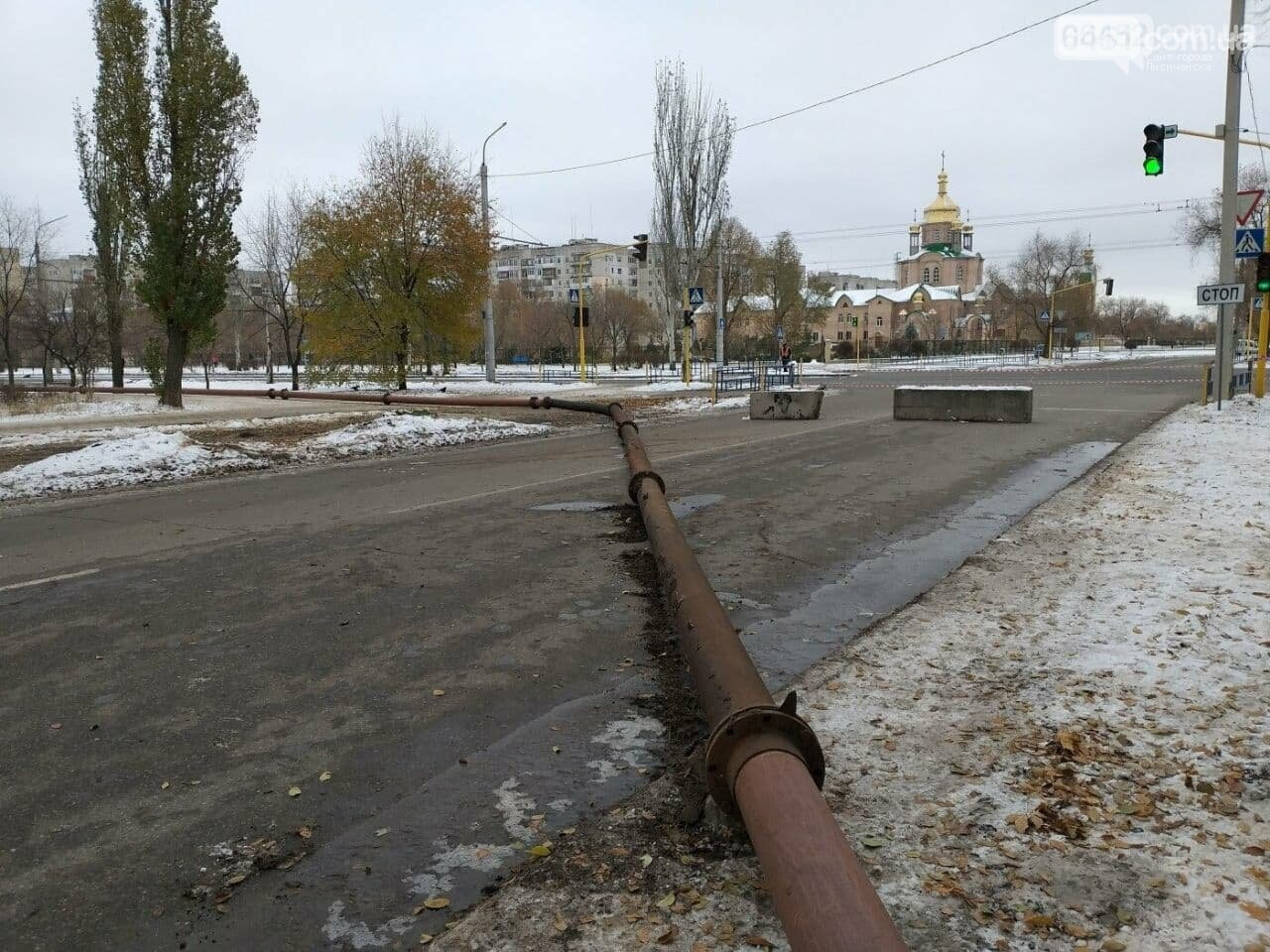Произошёл прорыв коллектора в Северодонецке, фото-3