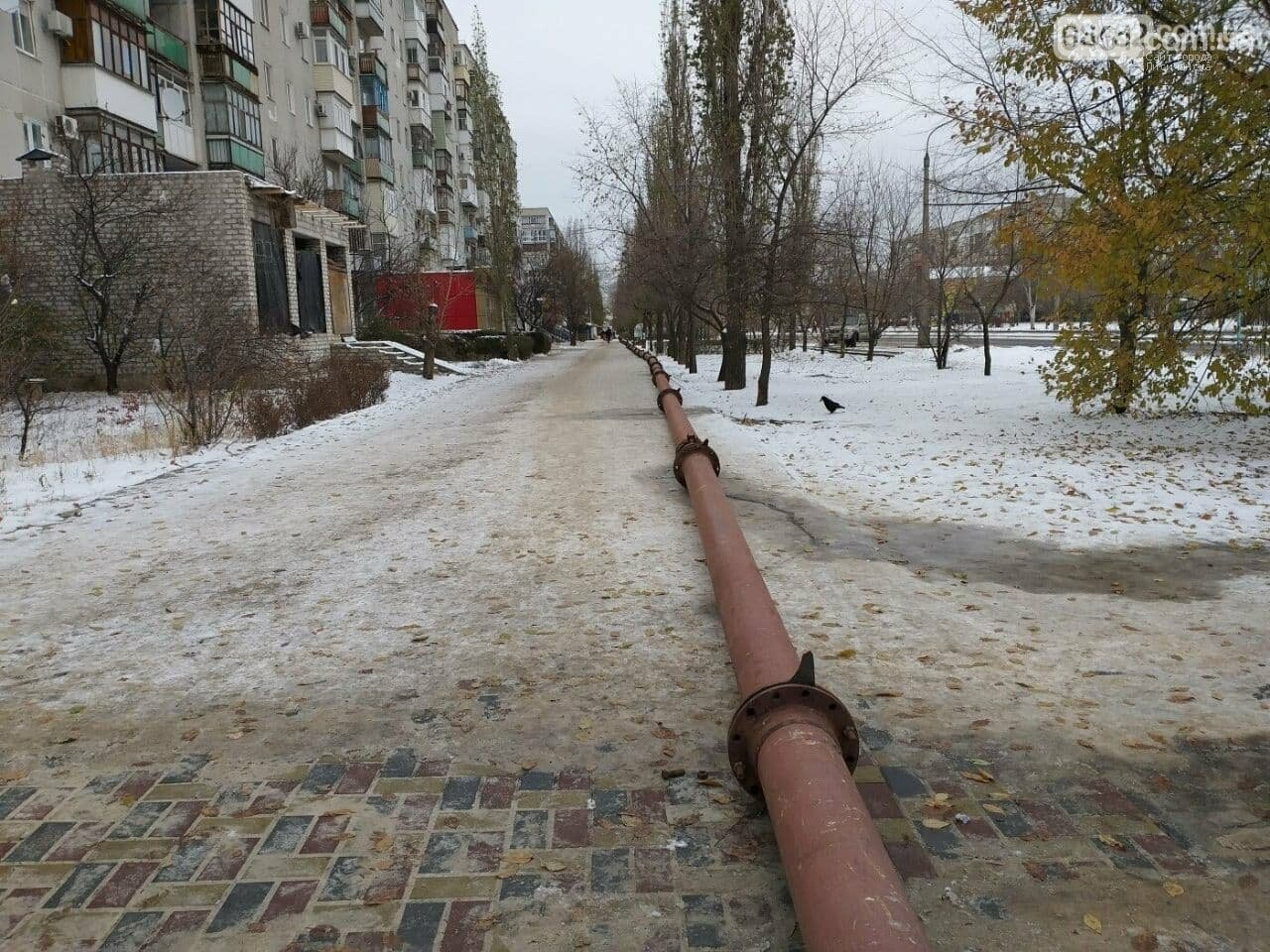 Произошёл прорыв коллектора в Северодонецке, фото-1