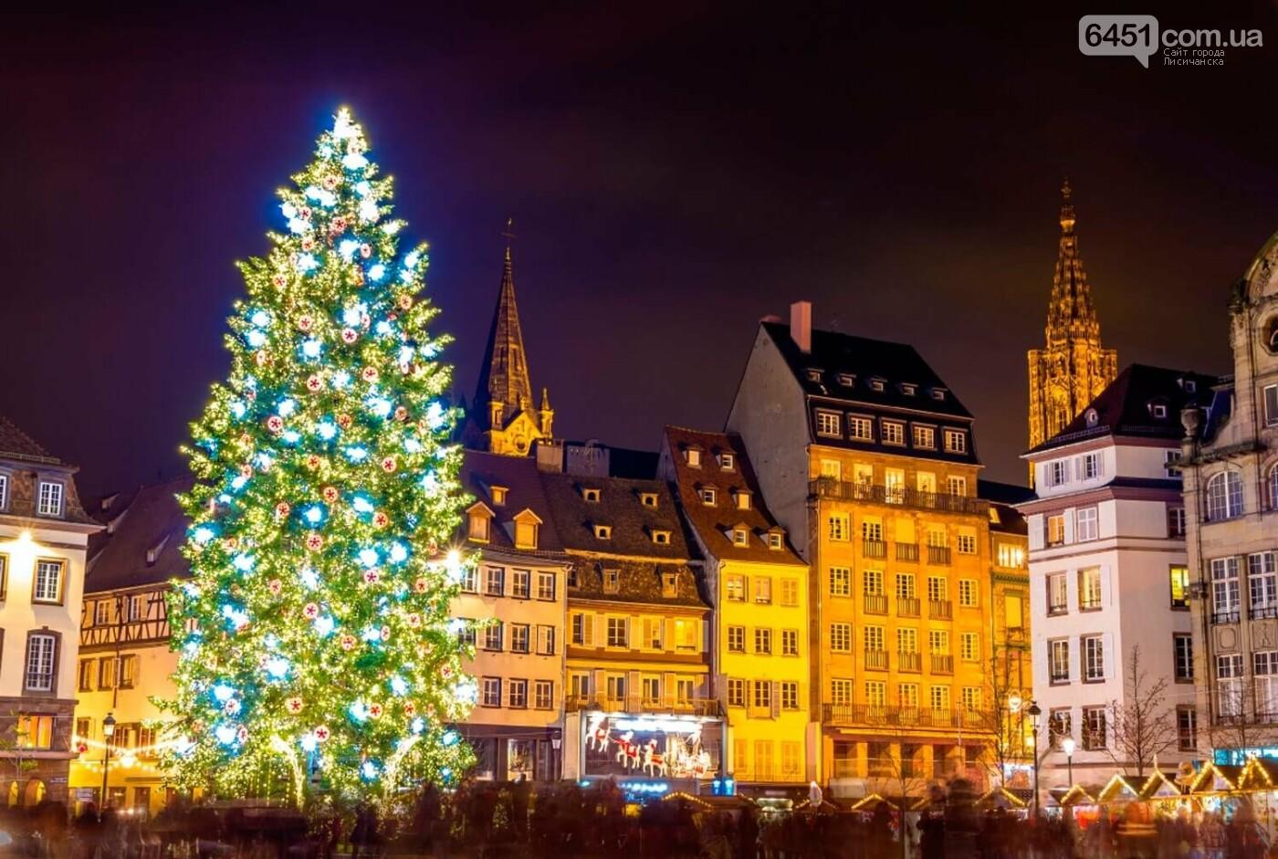 Ель в Страсбурге