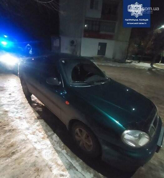Нетрезвый водитель в Рубежном предложил взятку сотрудникам полиции, фото-1